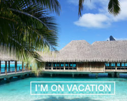 Going on Vacation: To Post or Not to Post?