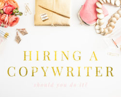 Hiring Someone to Write Copy for You