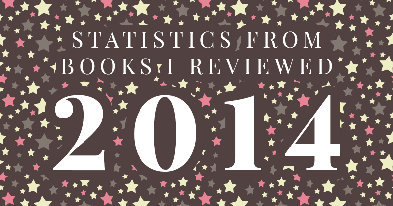 Statistics from Books I Reviewed in 2014