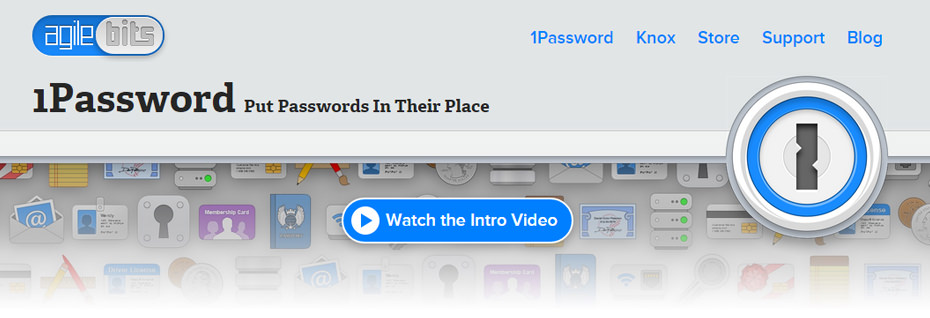 1Password - Put passwords in their place