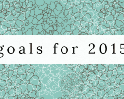 6 Things I Want to Achieve in 2015
