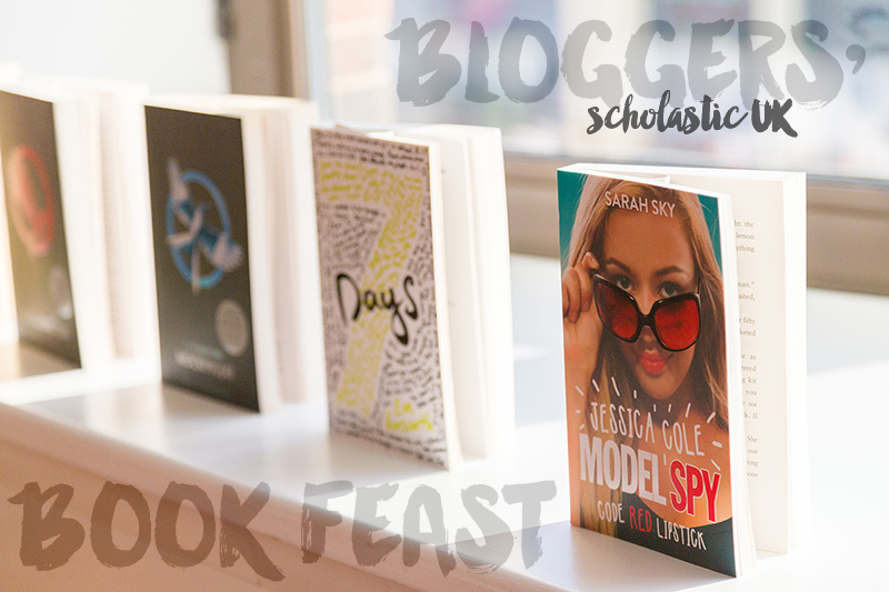 Scholastic Bloggers' Book Feast in the UK