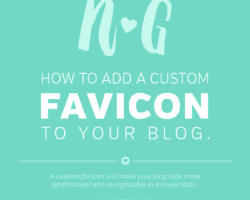 How to Add a Favicon to Your Blog