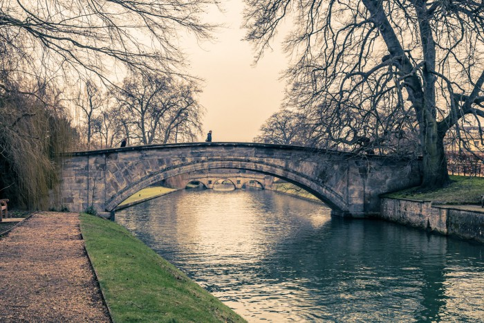 A bridge over the river Cam