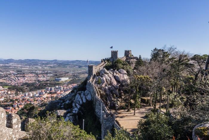 Castelo dos Mouros in Sintra, Lisbon