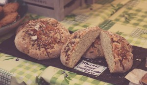 Homemade Italian style bread