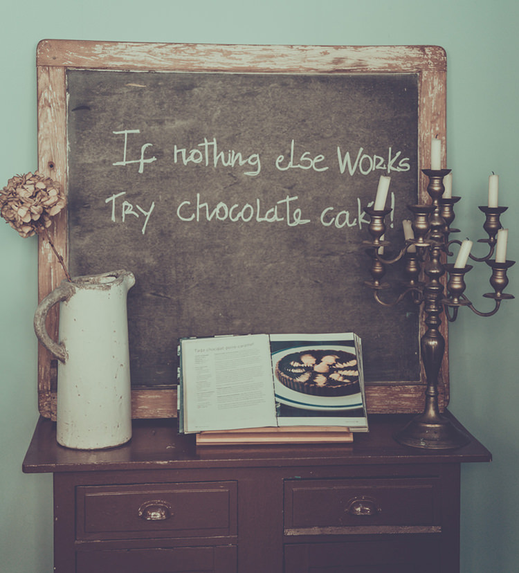 If nothing else works, try chocolate