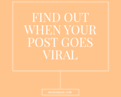 Google Analytics Alerts Tell You When a Post Goes Viral