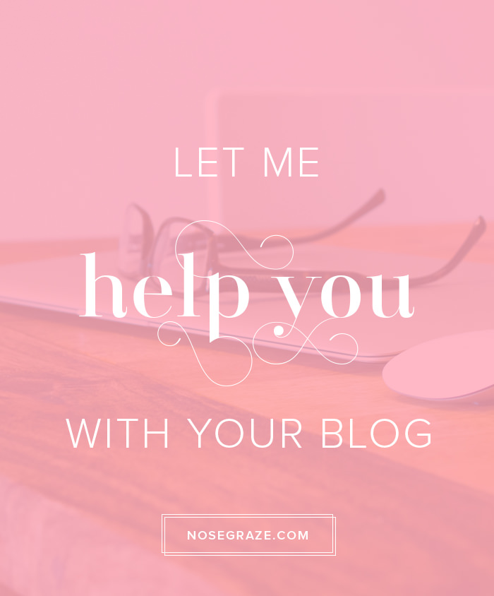 Let me help you with your blog.