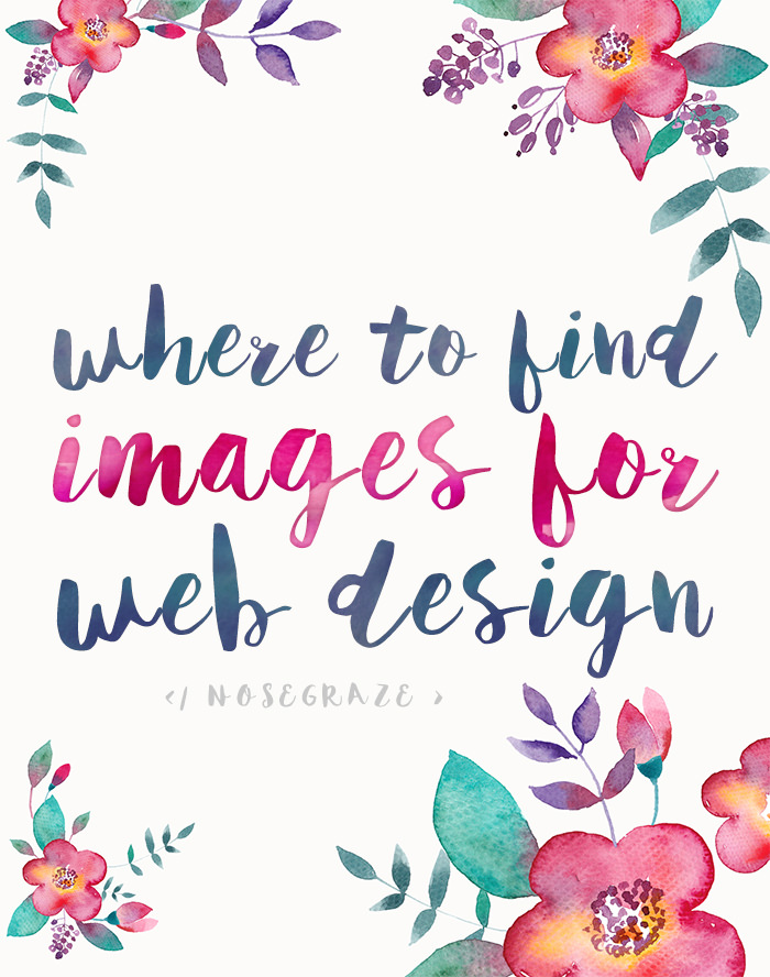 Where to Find Images to Use in Web Design