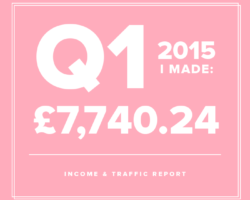 Q1 Income & Traffic Report – Business is Growing!