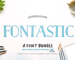 20% Off Some Seriously Epic Fonts (only $23.20)
