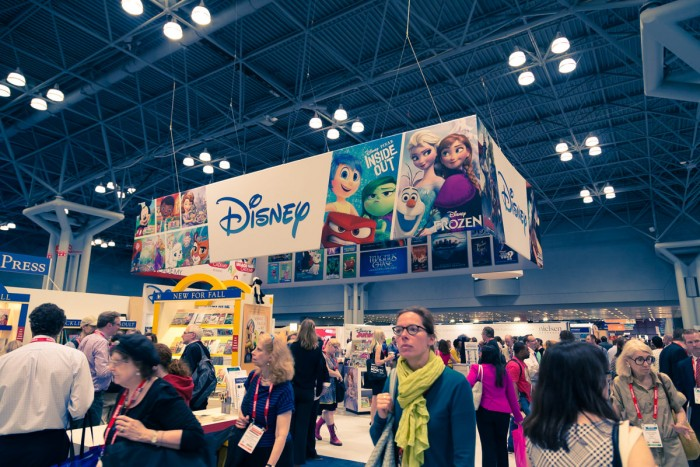 Disney booth at BEA