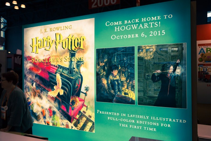 Poster for the Harry Potter illustrated edition