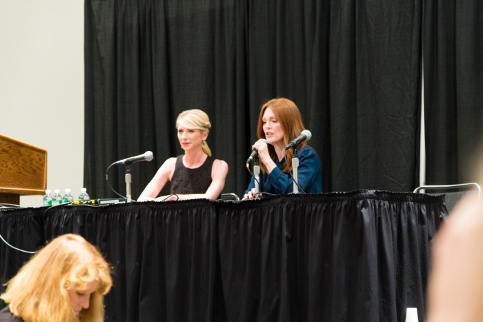 Amy Cuddy and Julianne Moore at BookExpo America