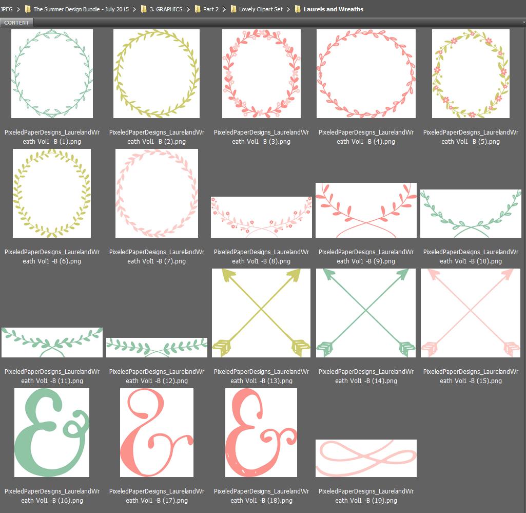 Browsing graphics in Adobe Bridge
