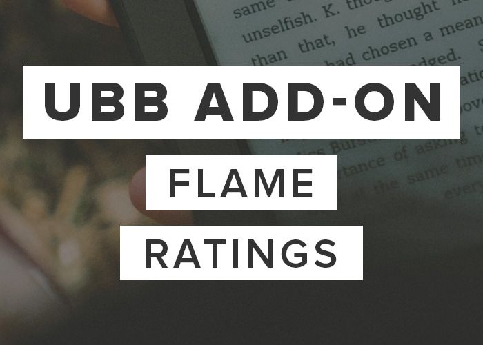 UBB Add-On: Flame Ratings