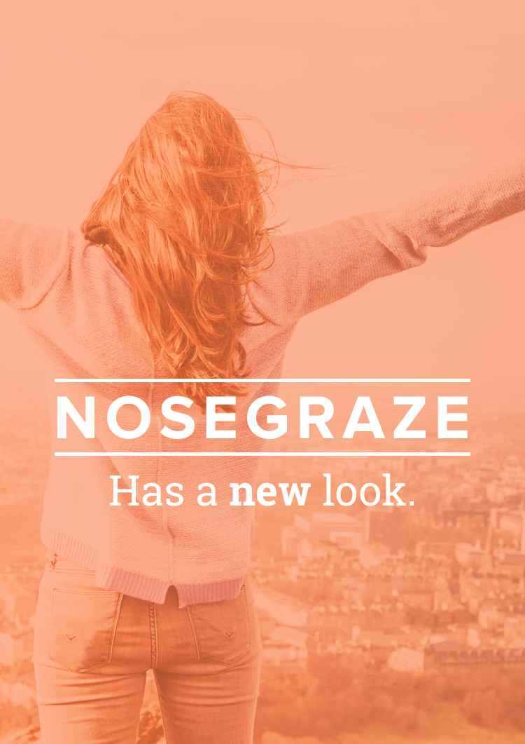 Nose Graze has a new look