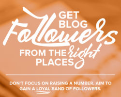 Get Blog Followers from the Right Places