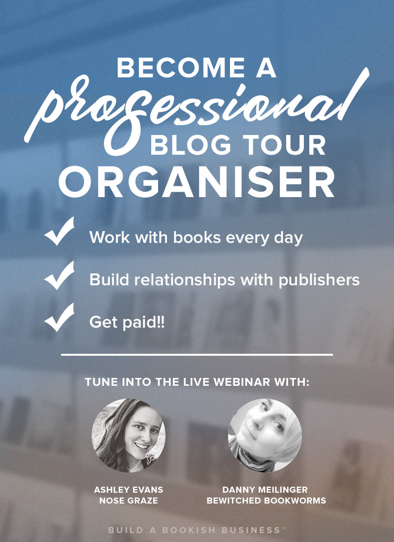 Become a professional blog tour organiser
