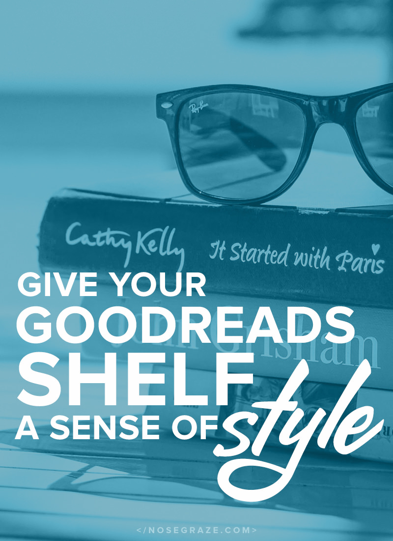 Give your Goodreads shelf a sense of style with this free plugin.