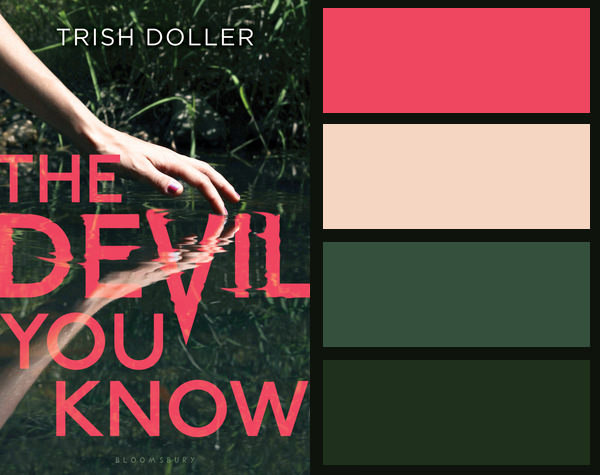 Colour palette for The Devil You Know by Trish Doller