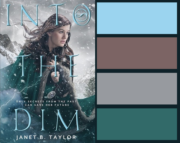 Colour palette for Into the Dim by Janet B. Taylor