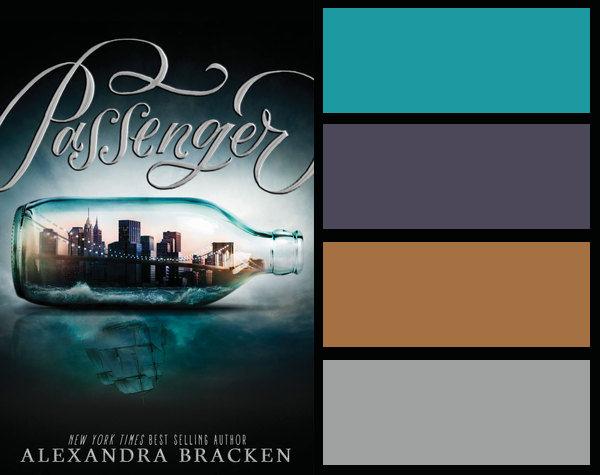 Colour palette for Passenger by Alexandra Bracken