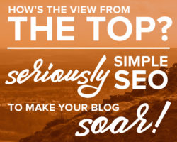 Ridiculously Simple SEO to Take Your Blog to the Top