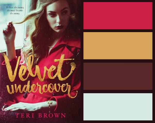 Colour palette for Velvet Undercover by Teri Brown