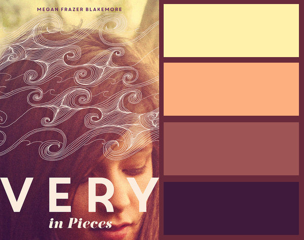 Colour palette for Very in Pieces by Megan Frazer Blakemore