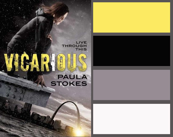 Colour palette for Vicarious by Paula Stokes