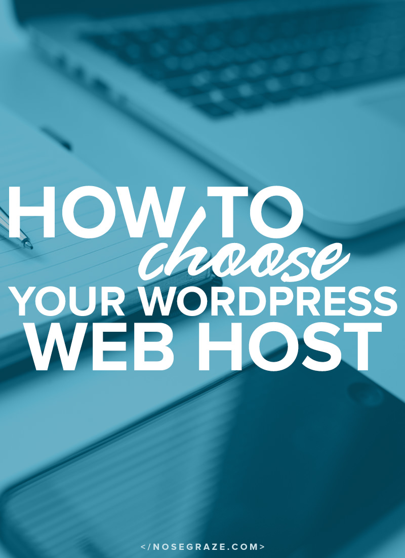 How to choose your WordPress web host