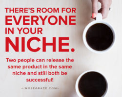 There's Room for Everyone in Your Niche