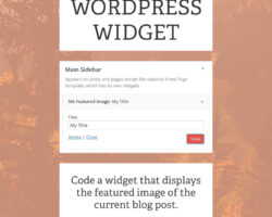 How to Code Your Own WordPress Widget