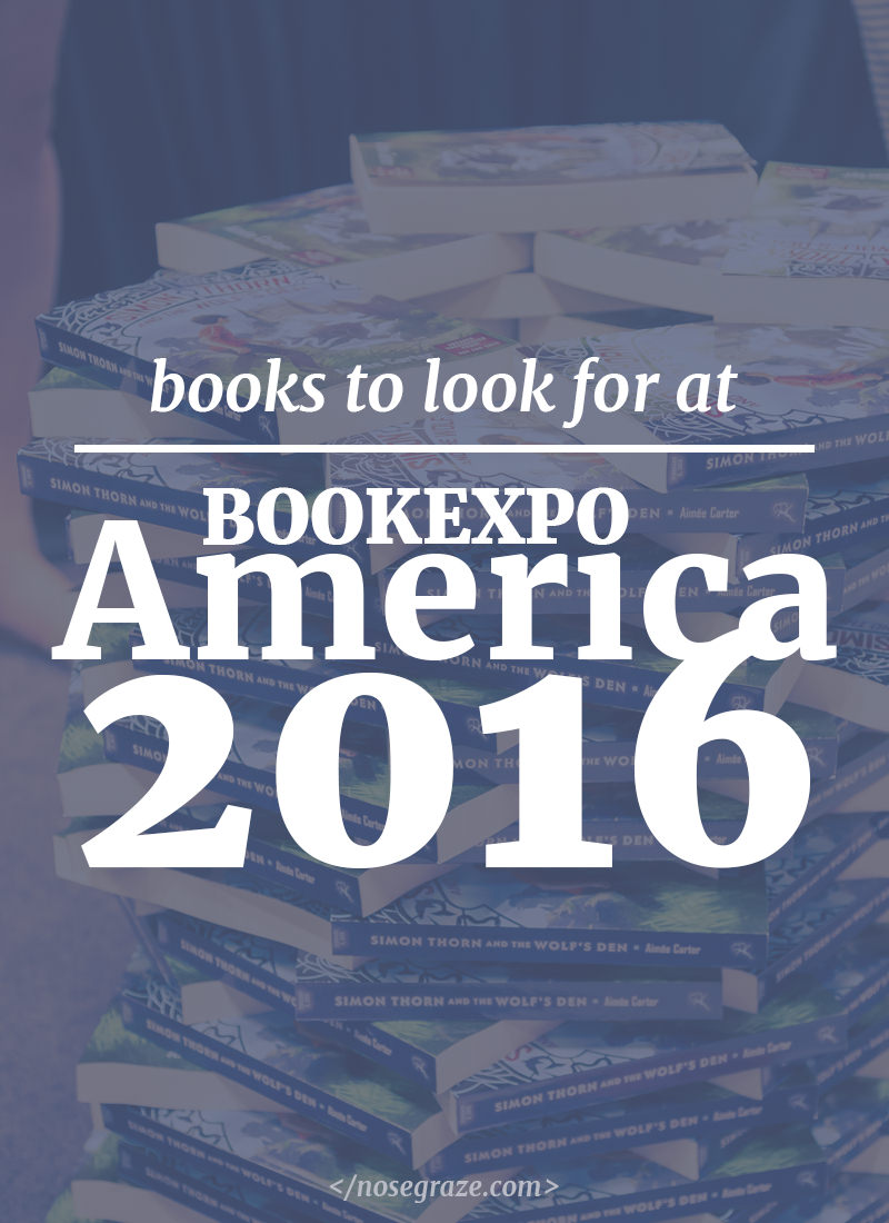 Books to look out for at BookExpo America 2016
