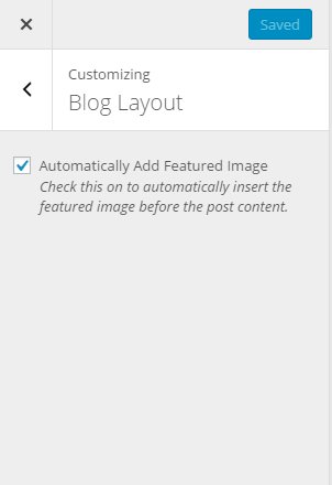 "Customizer setting for ""Automatically Add Featured Image"""