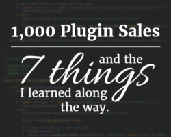 7 Things I Learned After 1000 WordPress Plugin Sales