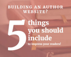 5 Things I Like to See on an Author's Website