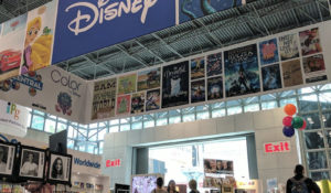 Disney booth at BookExpo