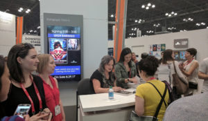 Leigh Bardugo signing Wonder Woman at BookExpo