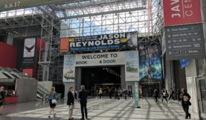 Entrance to the BookExpo show floor