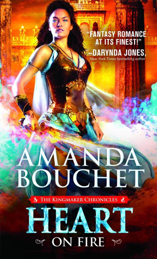 Heart on Fire by Amanda Bouchet (US Edition)