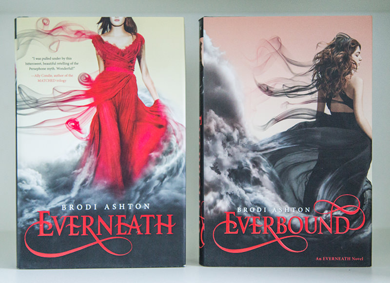 Everneath and Everbound hardcovers