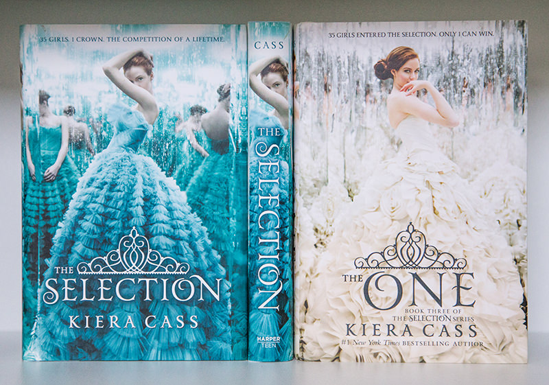 The Selection and The One hardcovers