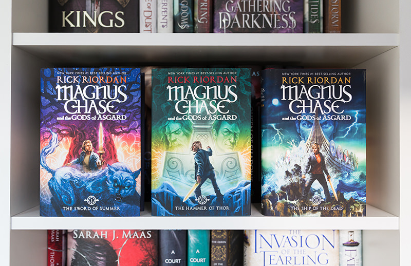 Magnus Chase and the Gods of Asgard series