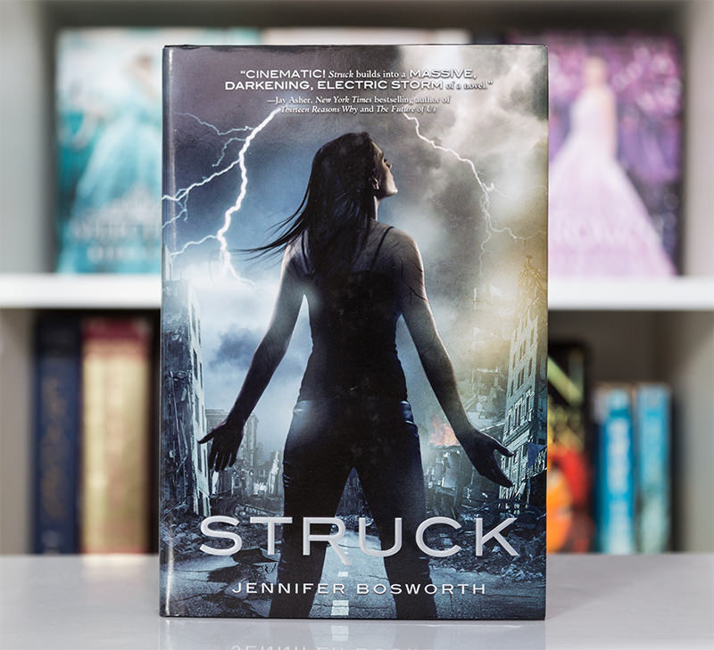 Hardcover of Struck by Jennifer Bosworth