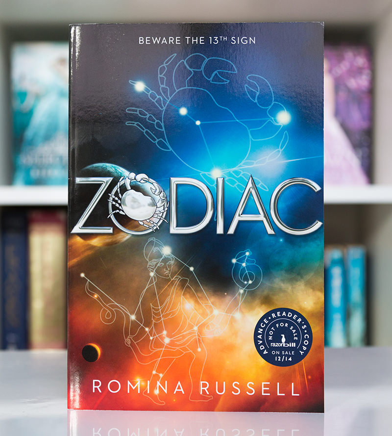 ARC of Zodiac by Romina Russell