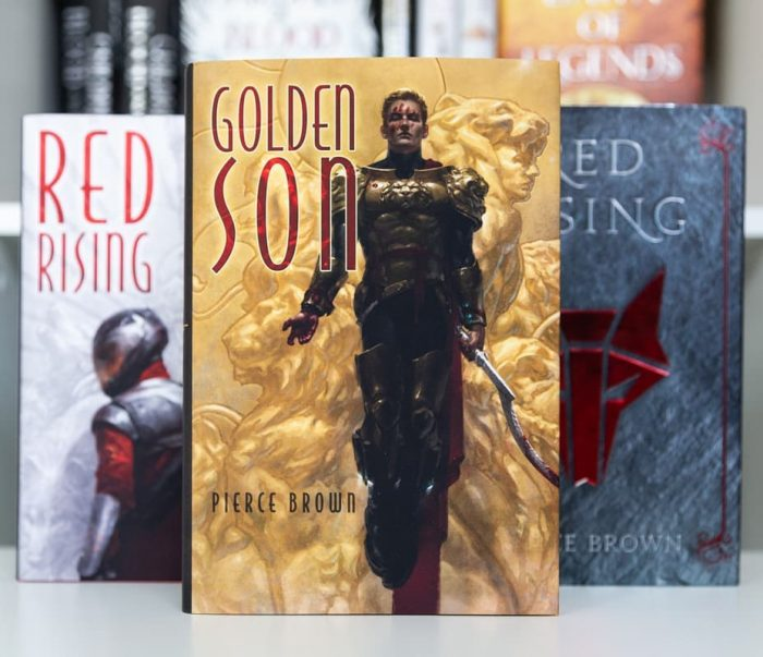Golden Son by Pierce Brown - Subterranean Press Edition