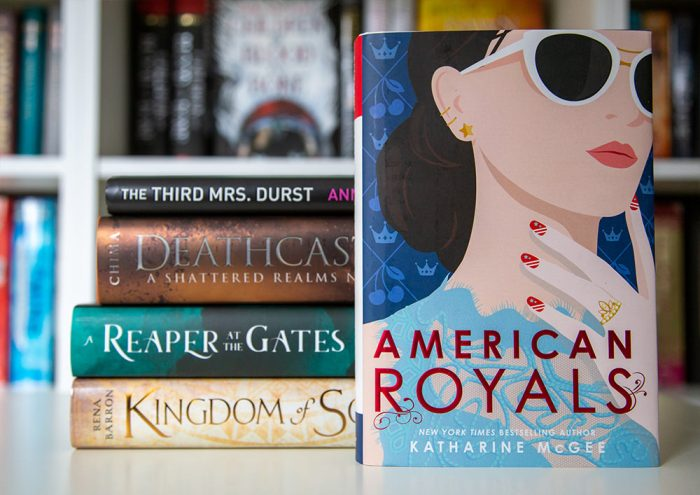 On my TBR list: American Royals by Katharine McGee